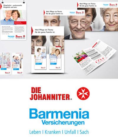 Atelier Steinbüchel & Partner, Werbeagentur Köln | Johanniter Barmenia