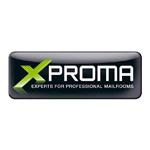 Word-Bild-Marke XProma entwickelt von der Werbeagentur Atelier Steinbüchel & Partner in Köln.