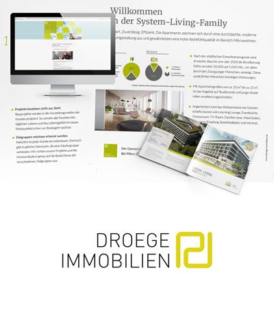 Atelier Steinbüchel & Partner, Werbeagentur Köln | Droege Immobilien