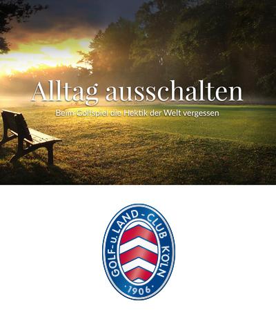 Atelier Steinbüchel & Partner, Werbeagentur Köln | Golf- und Land-Club Köln e.V.