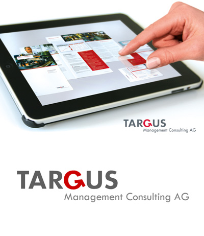 Corporate Design, Kölner Werbeagentur Atelier Steinbüchel & Partner, Targus Management Consulting AG