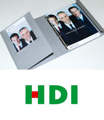 Vertriebsförderung Design, Kölner Werbeagentur Atelier Steinbüchel & Partner, HDI