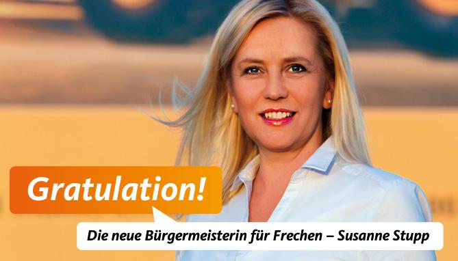 Crossmediale Kommunikation zur Bürgermeisterwahl Frechen – Atelier Steinbüchel und Partner, Werbeagentur Köln