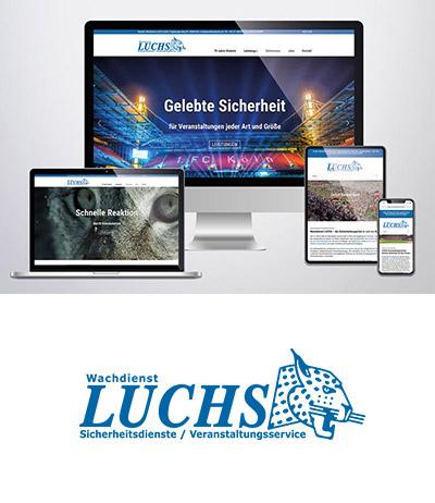 Wachdienst LUCHS-Webdesign