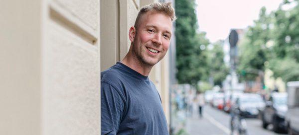 """Spitzenkoch Eric Werner vor seinem ersten eigenen Restaurant """"astrein"""""""