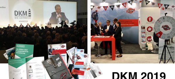 Neuigkeiten aus der Versicherungsbranche auf der DKM 2019 in Dortmund.